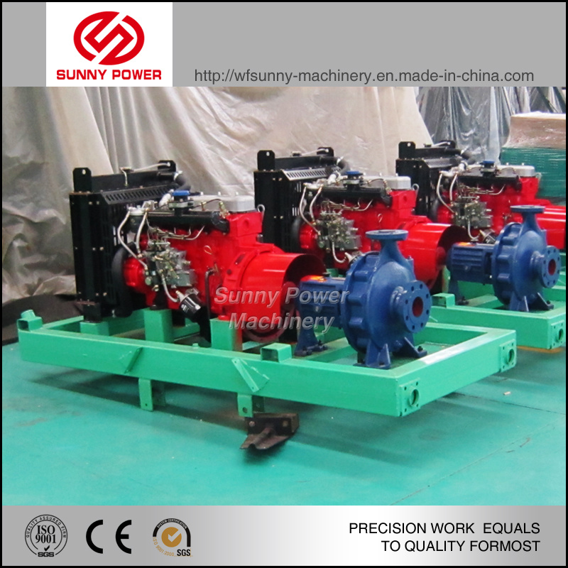 Diesel Water Pump for Sprinkler Irrigation System with High Pressure
