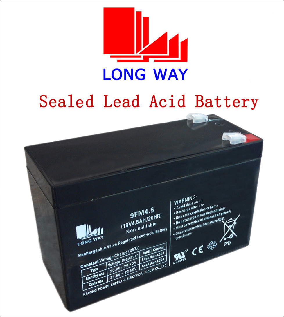 China 9fm45 Vrla Rechargeable Power Sealed Lead Acid Battery Charger Circuit Sla Bank