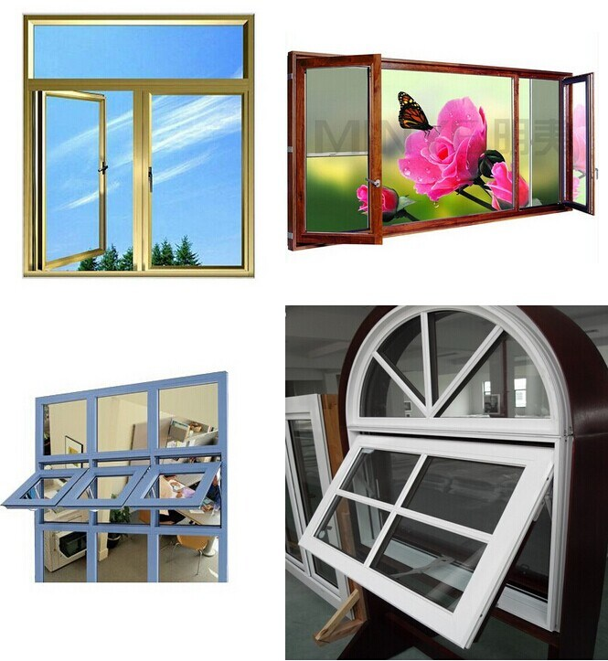 Beautiful Window with Aluminium Frame
