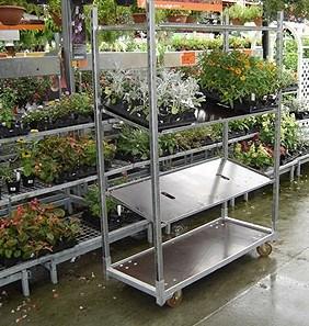Beau Flower Carts, Danish Trolley, Garden Tool, Dutch Trolleys, Flower Rack,  Wheelbarrow
