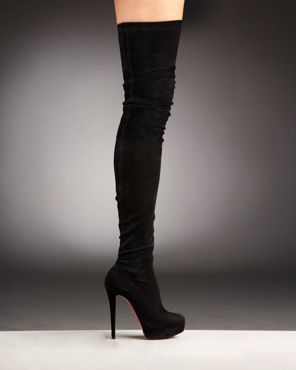 promo code aa8c4 4dba8 China Gazolina Suede Over The Knee Platform Boot (LTYQC633A ...