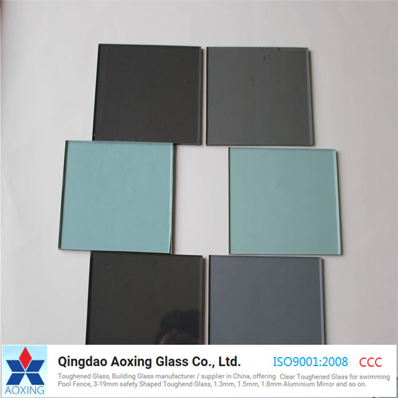 China 3mm 4mm Clear Float Glass Mirror Grey Bronze Reflective