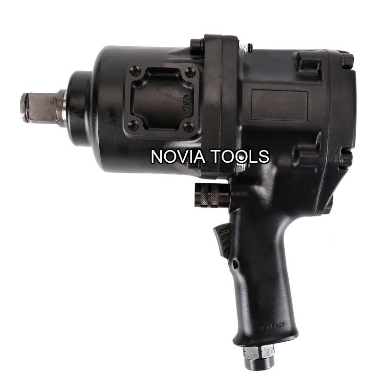 China Heavy Duty Industrial Pistol Type 1 Twin Hammer Air Impact Wrench China Pistol Type Twin Hammer