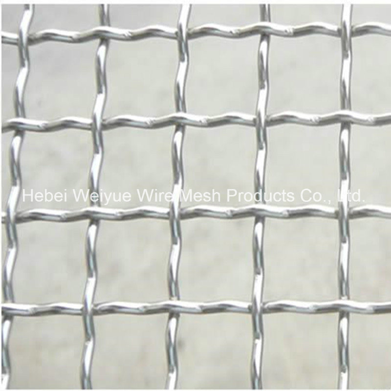 China Stainless Steel Galvanized Decorative Flat Crimped Wire Mesh ...