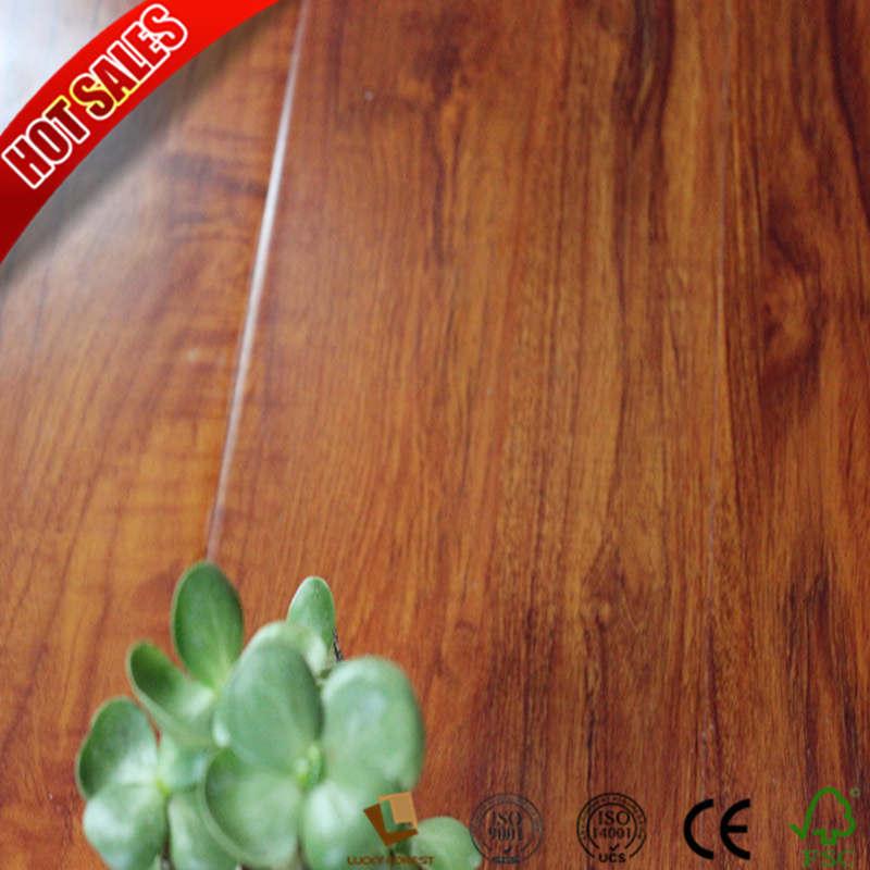 Hdf E1 Wood Grain Surface Non Slip Laminate Flooring