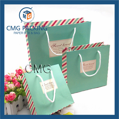 Custom Printing Paper Bag for Garment Packaging