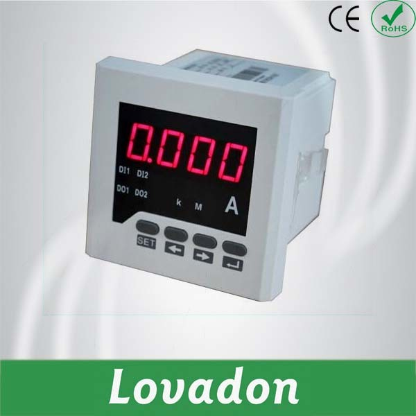 Intelligent Analog Single Phase DC Digital Panel Current Meter