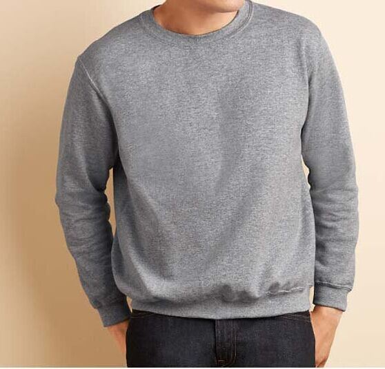 Sweater Round Neck with Your Customized Logo (small orde acceptable)