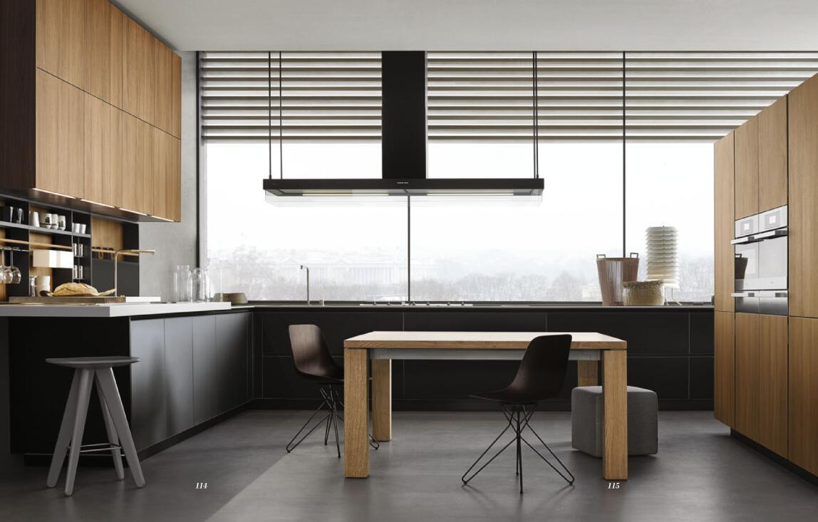 China Hlp Melamine Finish Kitchen Cabinets Photos & Pictures - Made ...