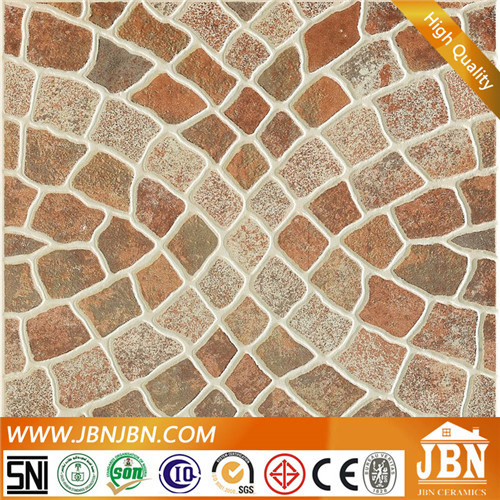 China Rustic Ceramic Garden Floor Tile With Beautiful Design 4a322