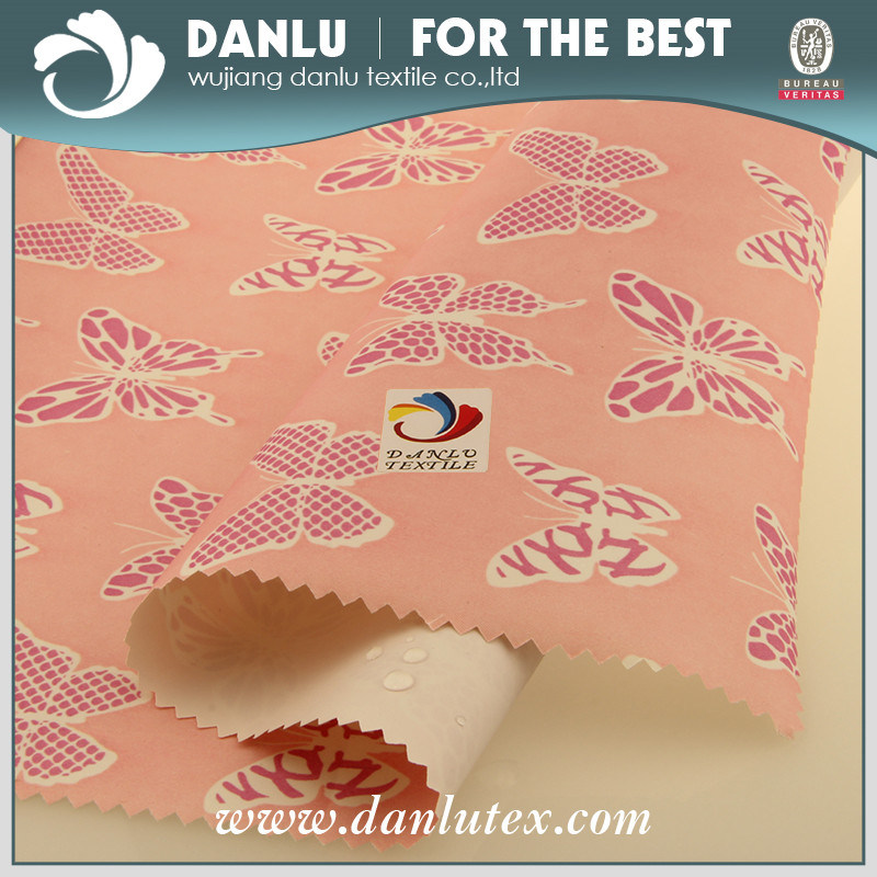 Printed Taffeta Fabric for Shower Curtain and Wardrobes
