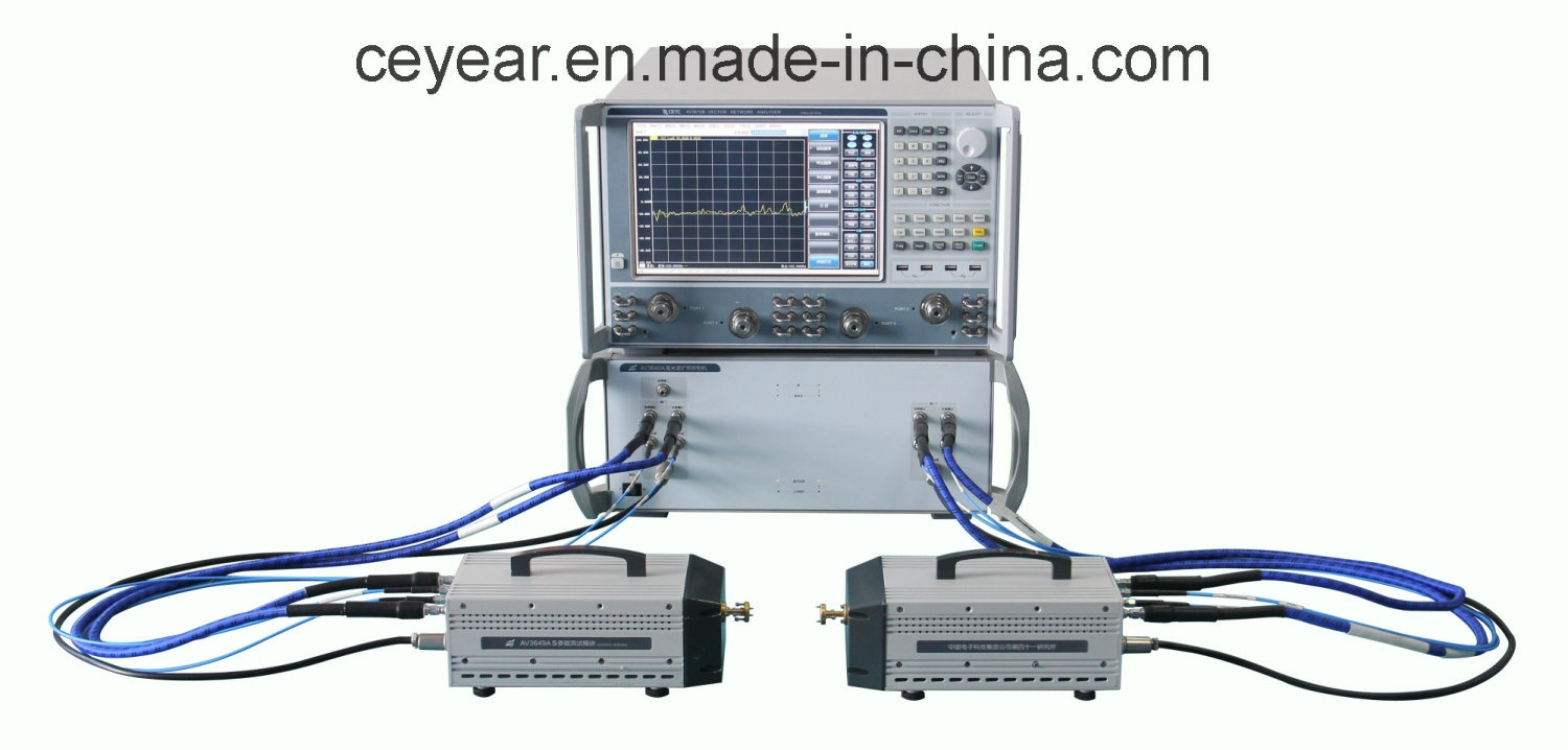 China 3672 Vector Network Analyzer, High Frequency Vna Equal to