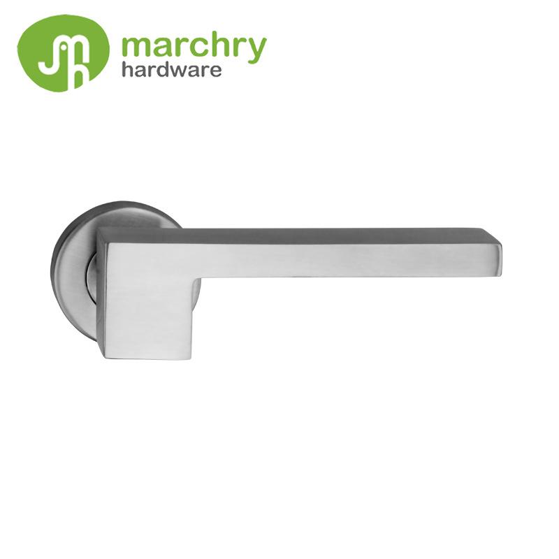 China 304 Stainless Steel Door Hardware Double Handle Door Lock   China  Double Handle Door Lock, Stainless Steel Door Hardware