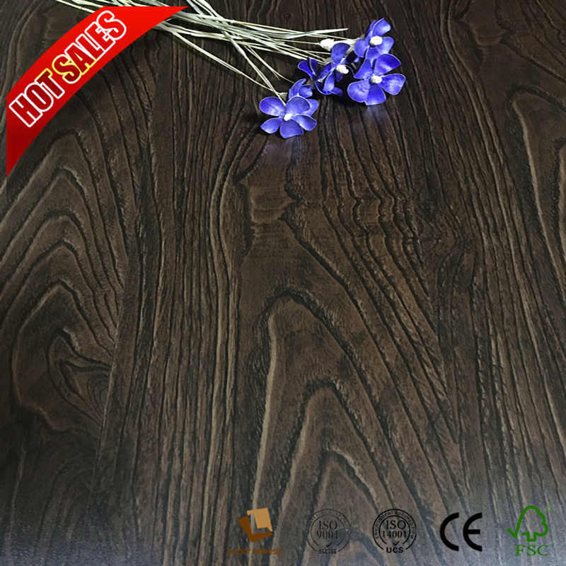 Solid Color Laminate Flooring With Um Embossed Surface