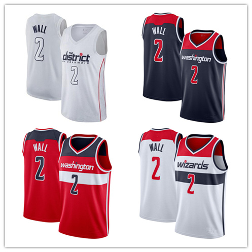 best cheap 67140 7ddad [Hot Item] Men Women Youth Wizards Jerseys 2 John Wall Basketball Jerseys