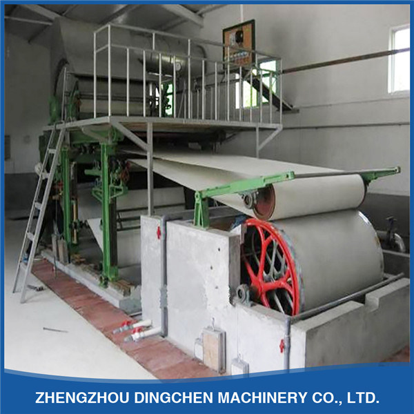 (Dingchen-1880mm) Toilet Paper and Napkin Paper Production Line with Medium Scale