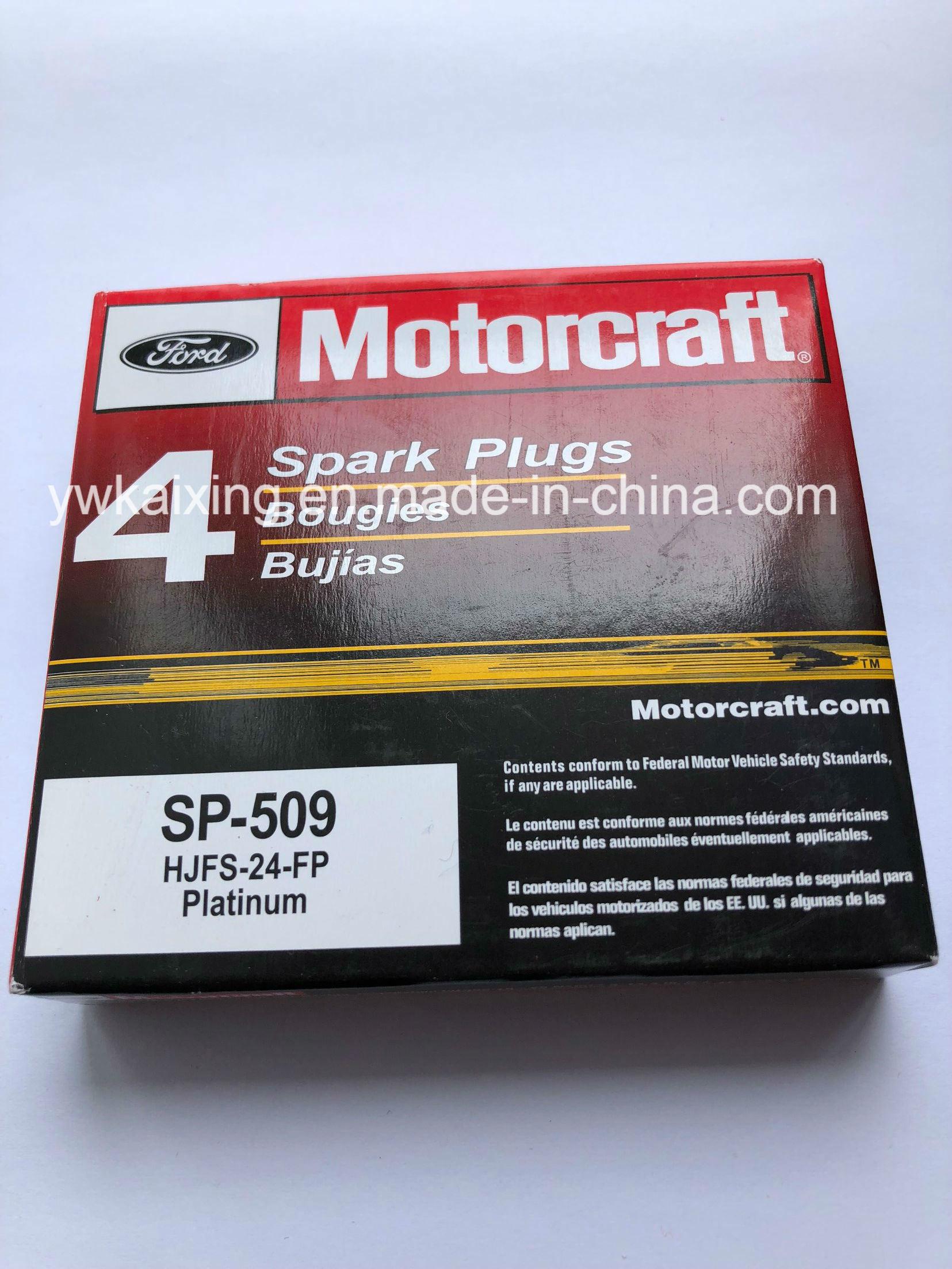 Motorcraft spark plug set sp 509 for ford lincoln mercury hjfs 24fp us