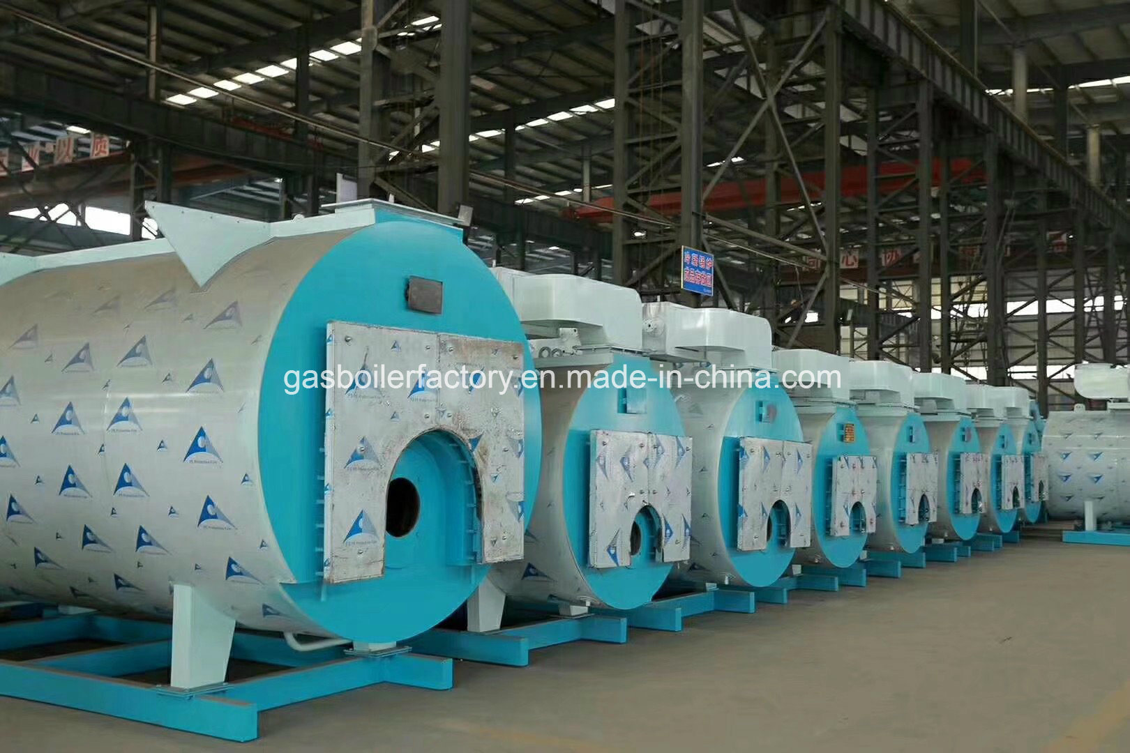 China Muti Fuel LPG Oil and Light Oil Fired Steam Boilers Machine ...