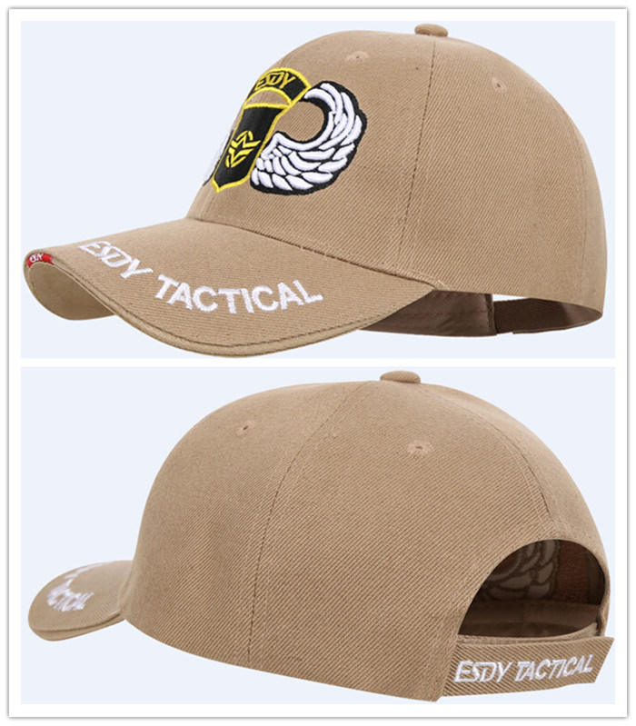 3 Colors Airsoft Combat Tactical Sports Hats Baseball Cap