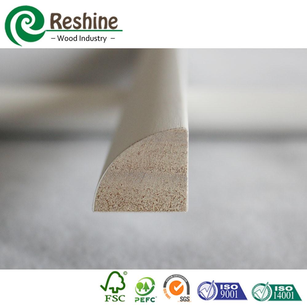 China Decorative Ceiling Wood Trim Quarter Round Mouldings