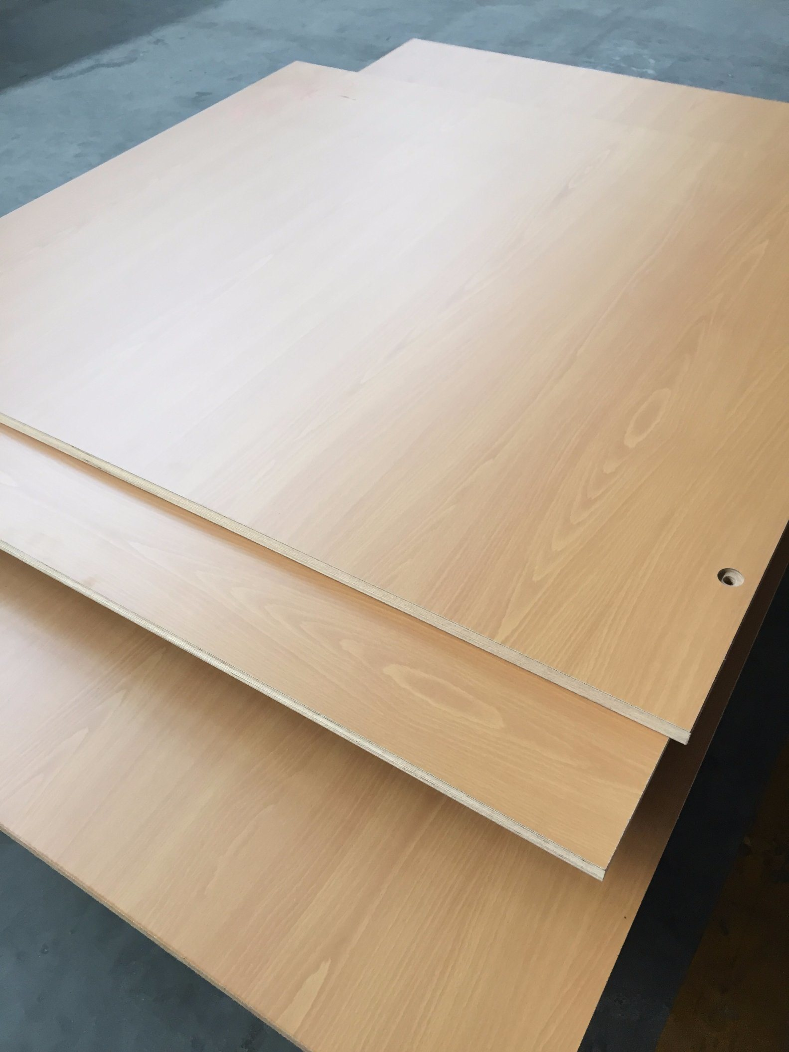 China Cheap Price Kitchen Cabinets Formica Veneer 8x4 Plywood Photos