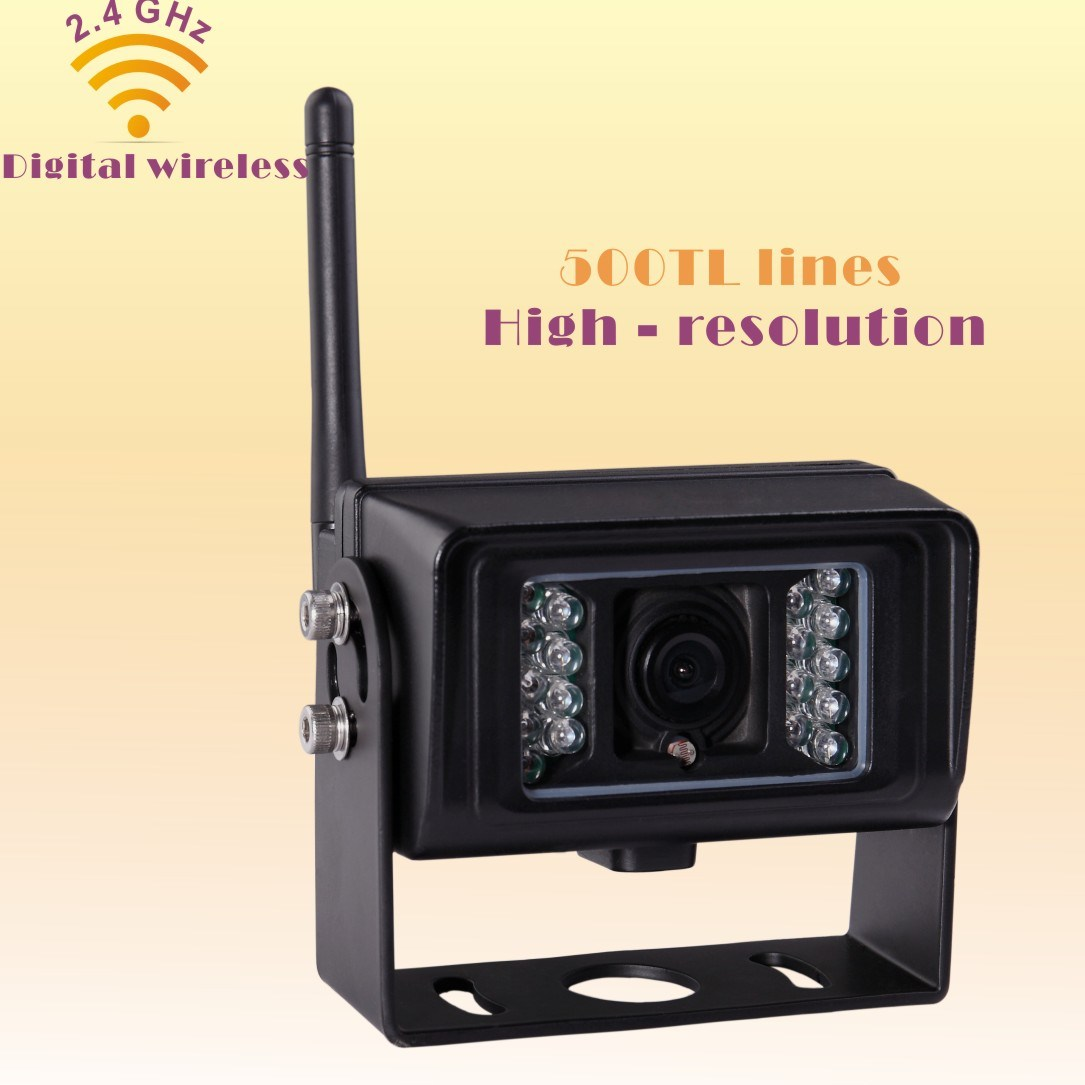 Waterproof Wireless Digital Camera for Farm Tractor, Combine, Cultivator, Plough, Trailer, Truck, Barn Vision