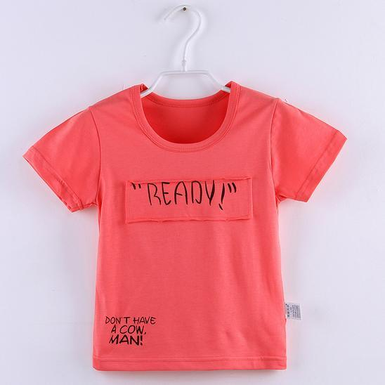 2f4130433 2016 Custom Blank/Printed Cotton Kid′s Boy T-Shirt for Promotion