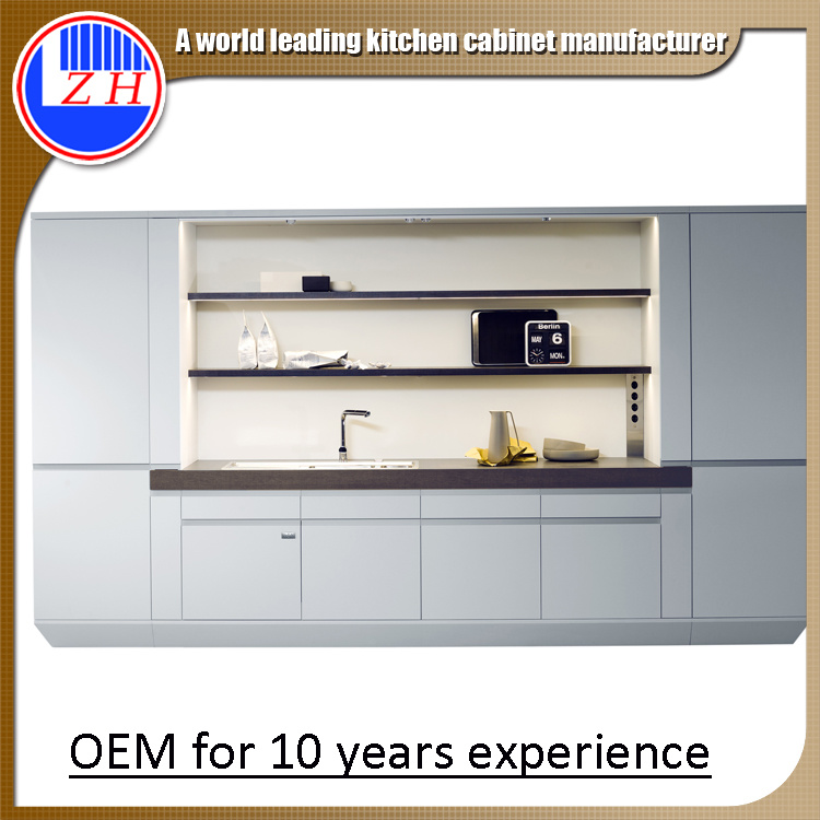 China 2015 New Sample Designs Wooden MDF Kitchen Cabinets