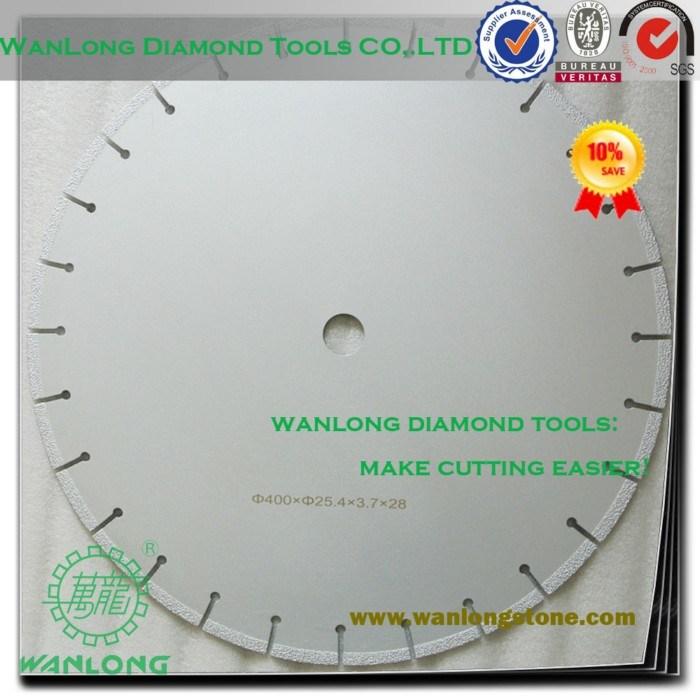 Diamond saw blade kerf