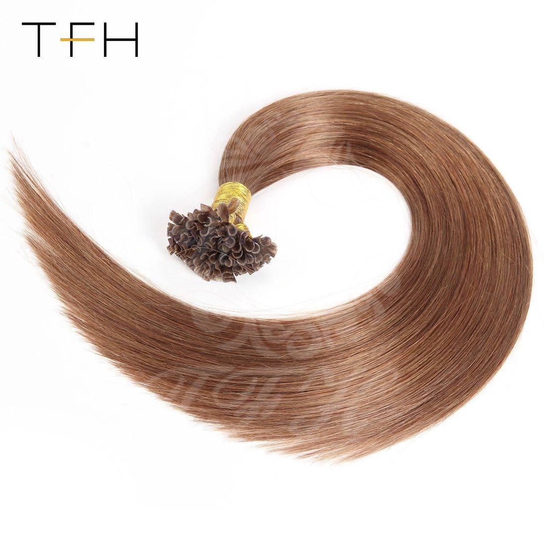 China Tfh 20 Inches Nail Remy Hair Extensions 1gstrand Nail U Tip
