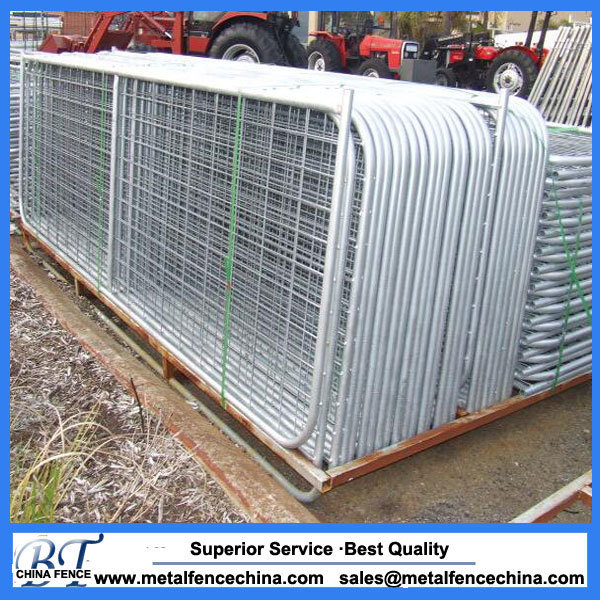 China Wire Mesh N Brace Steel Farm Gate Photos & Pictures - Made-in ...