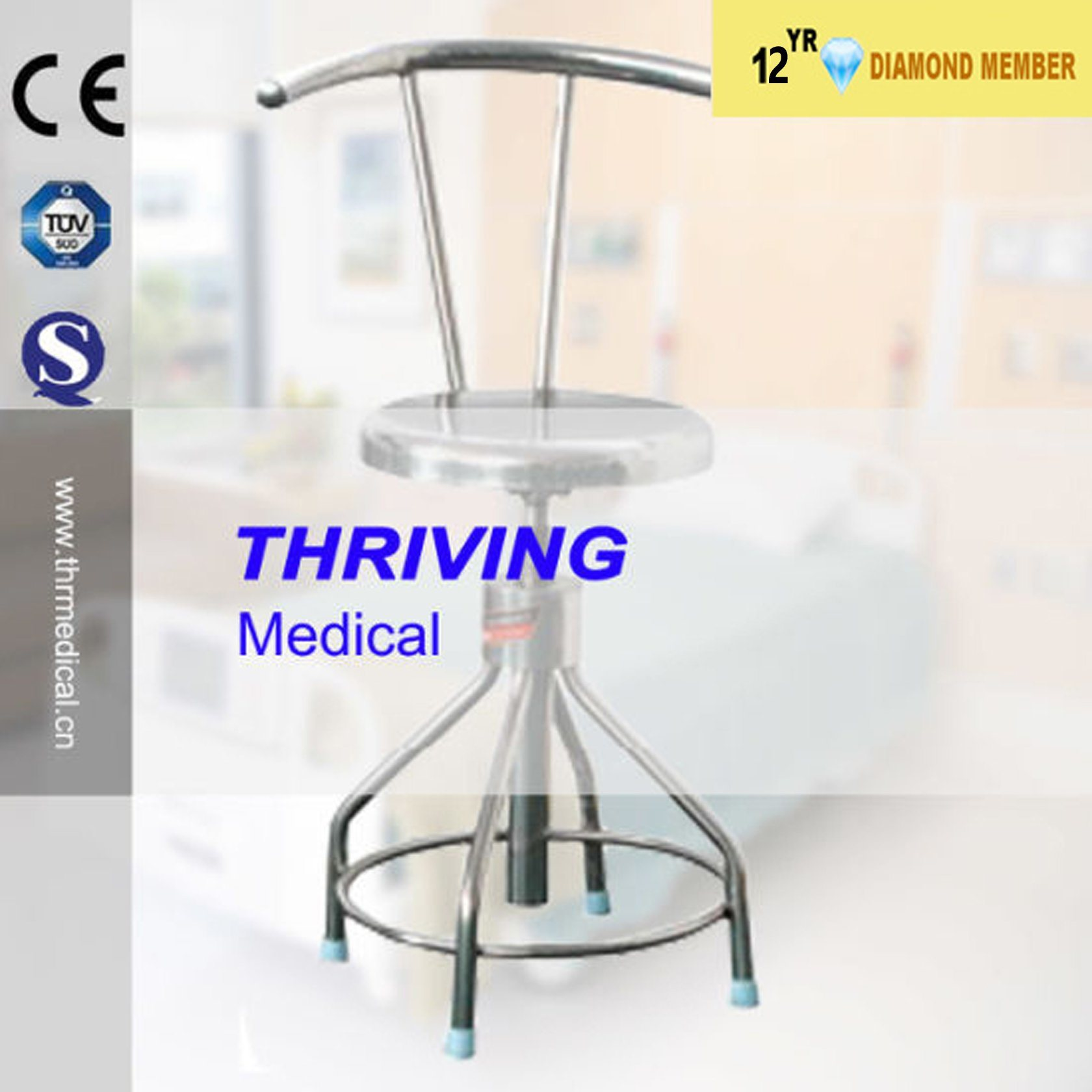Phenomenal Hot Item Stainless Steel Adjustable Stool With Backrest Thr Dc03 Forskolin Free Trial Chair Design Images Forskolin Free Trialorg
