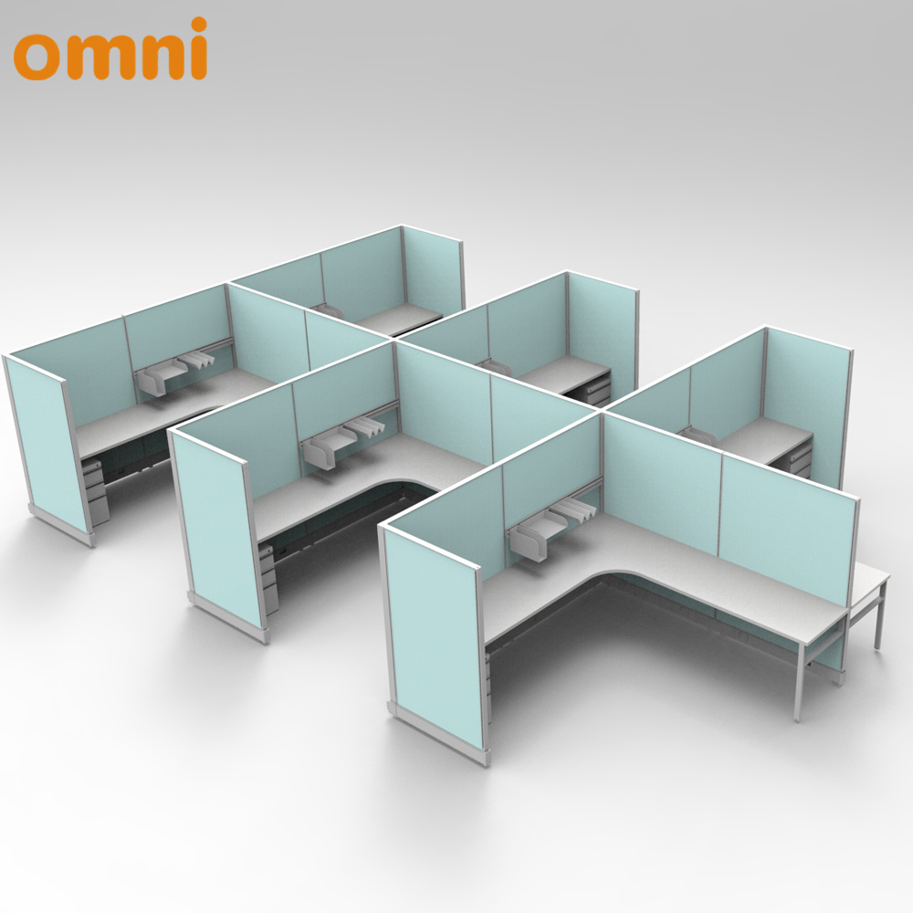 6 8 Person Modular Office Furniture