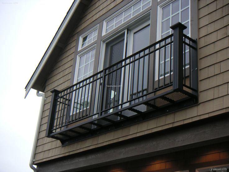 Aluminum Outdoor Balcony Stair Railing