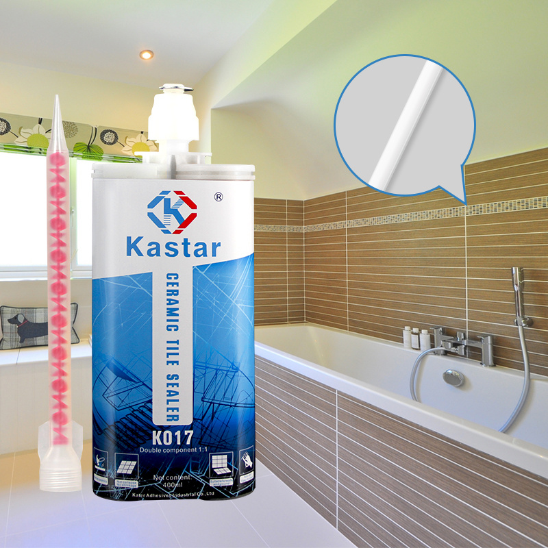 China Colored Tile Adhesive Epoxy Glue Sealant For Marble Granite Floor Wall Gap Filling