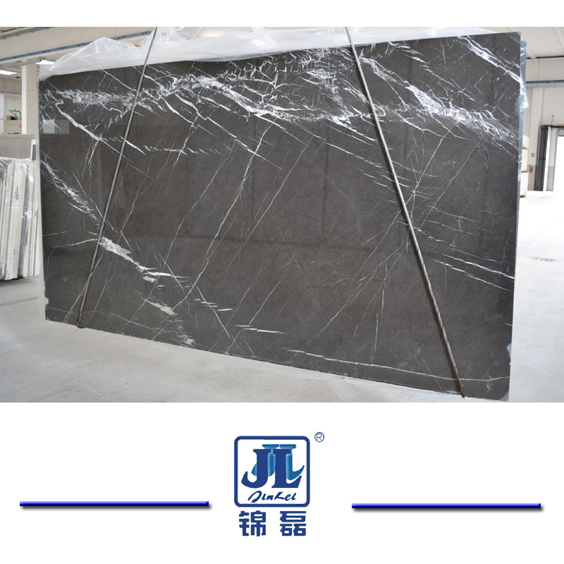 China Polished Pietra Gray Marble For Slabs Flooring Wall Cladding - Marble slab for bathroom vanity
