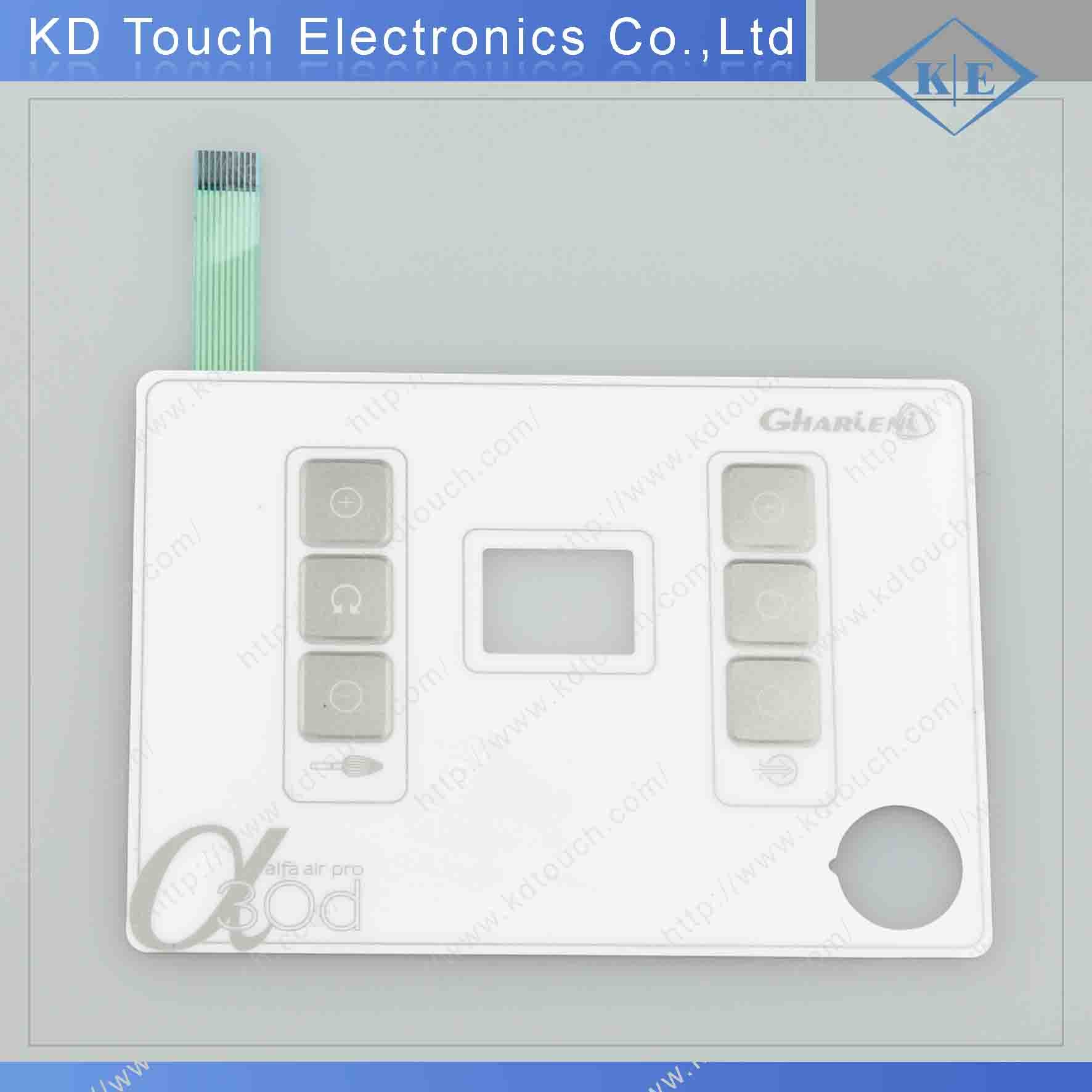 Silicone Rubber Button Keypad Assembled with Membrane Pet Circuit pictures & photos