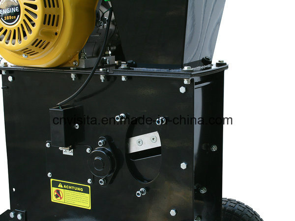 6.5HP Gasoline Wood Chipper Shredder pictures & photos