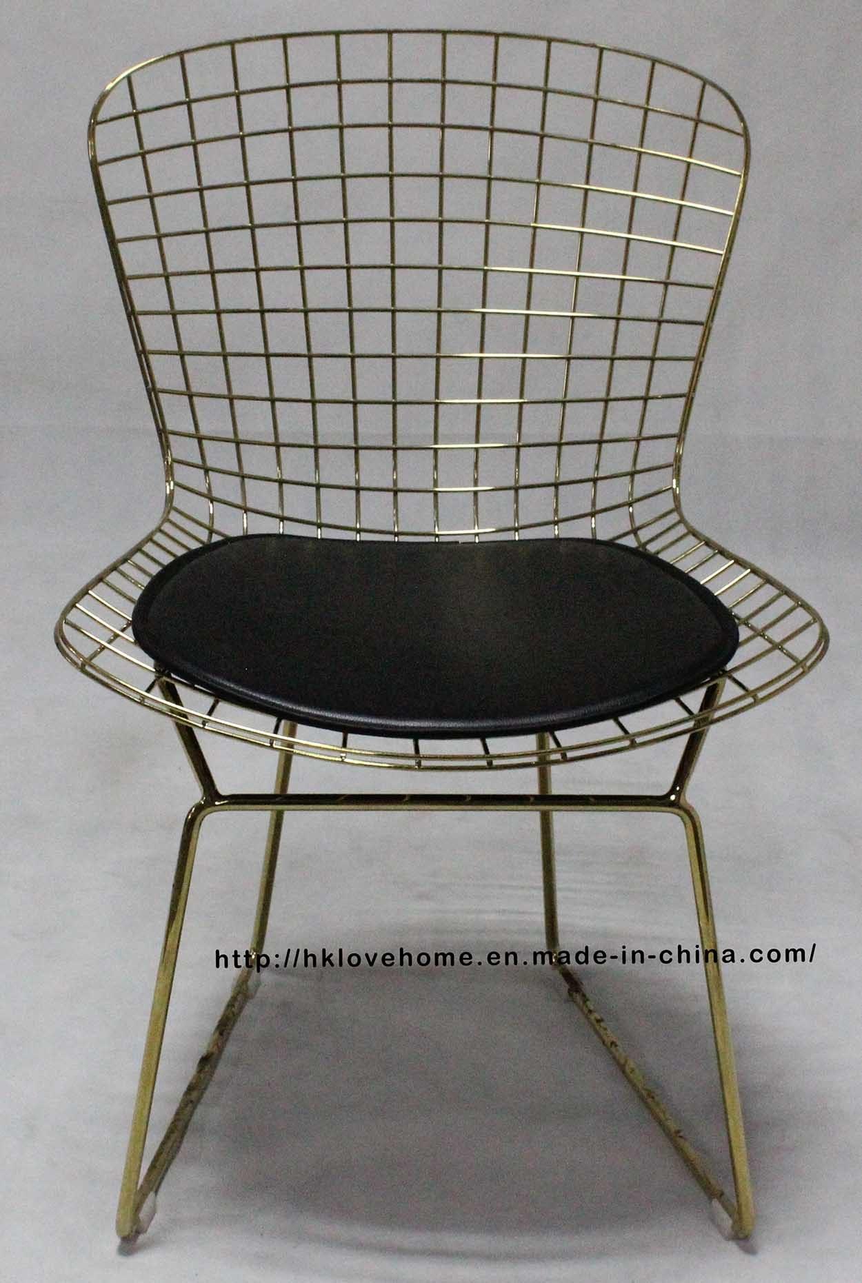 China Replica Restaurant Outdoor Furniture Metal Wire Dining Garden ...