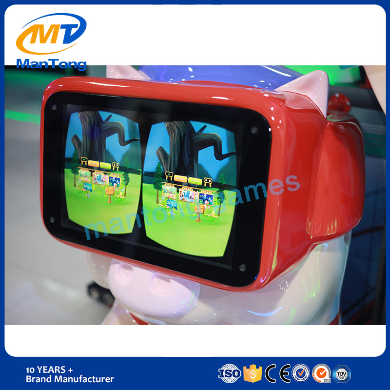 2017 Ce Certificates Kids Vr Game Machine Immersive Virtual Experience