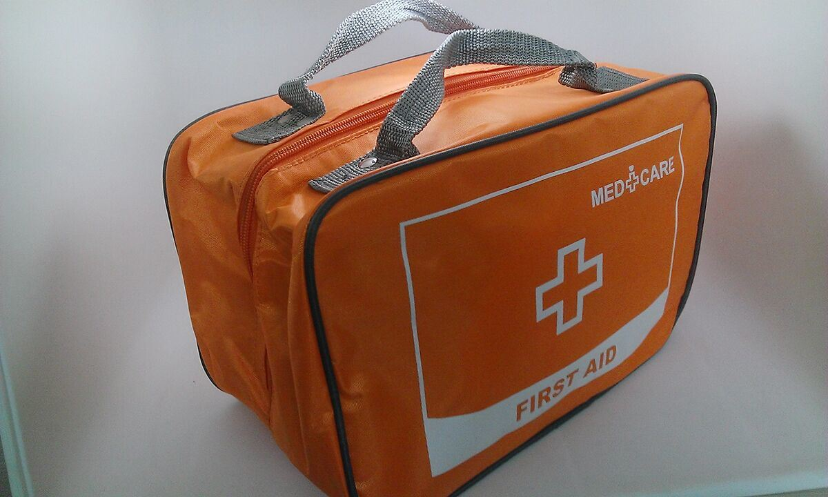 Auto Emergency First Aid Nylon Kit Car Aid Kit Travel Kit pictures & photos