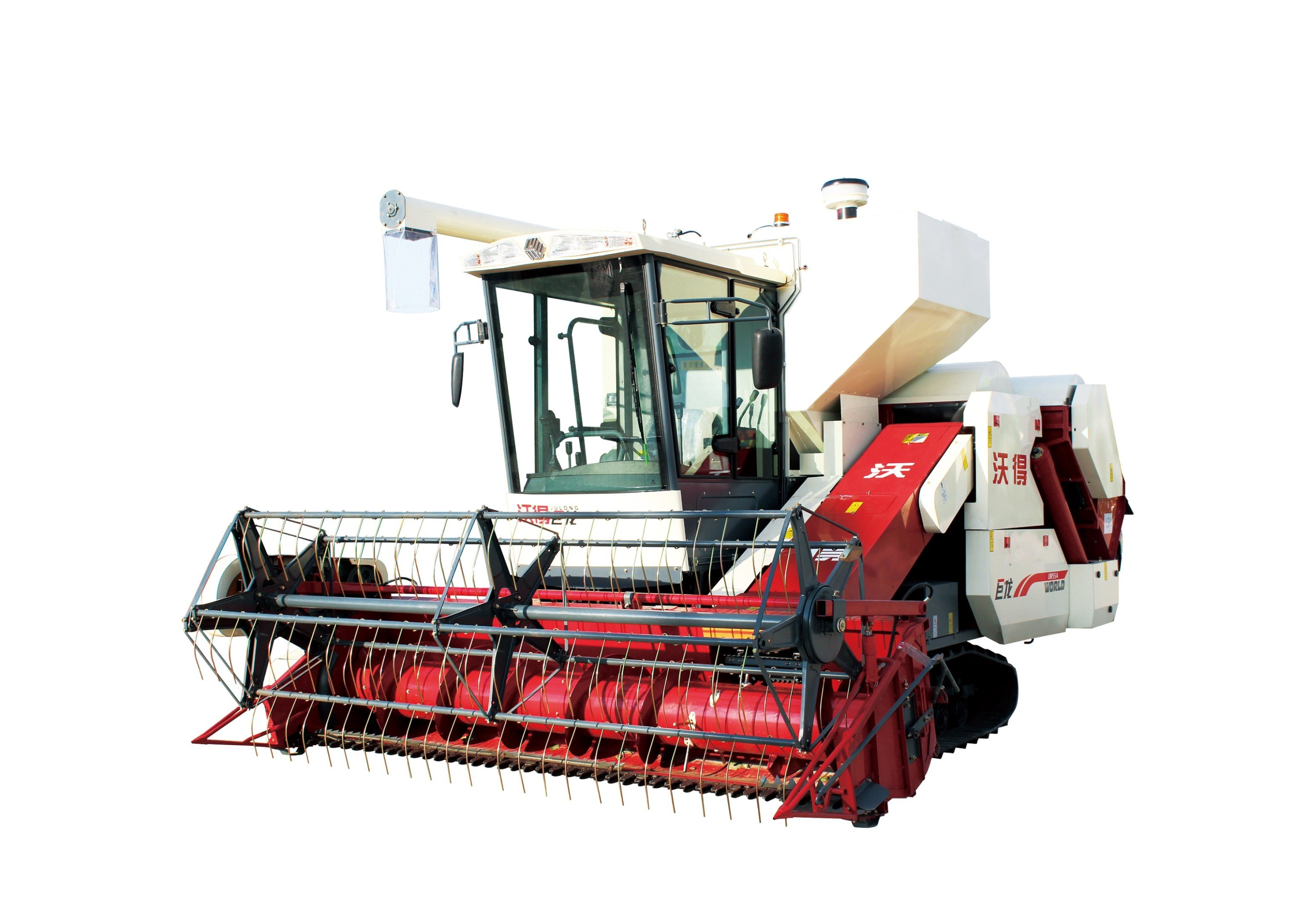 Rice and Wheat Combine Harvester Julong Type