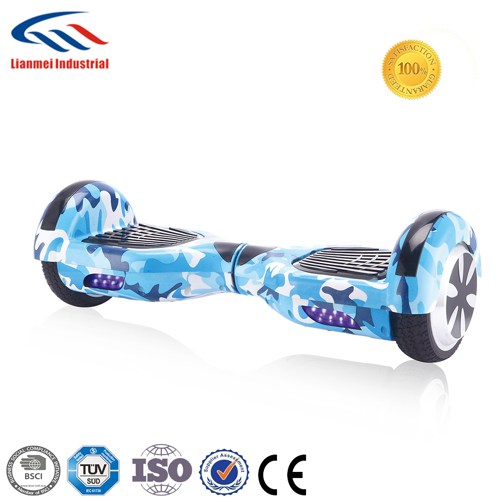 China Factory Wholesale Price 6 5 Inch 2 Wheel Smart Balance Wheel Hoverboard With Bluetooth China Hoverboard And 2 Wheels Hoverboard Price