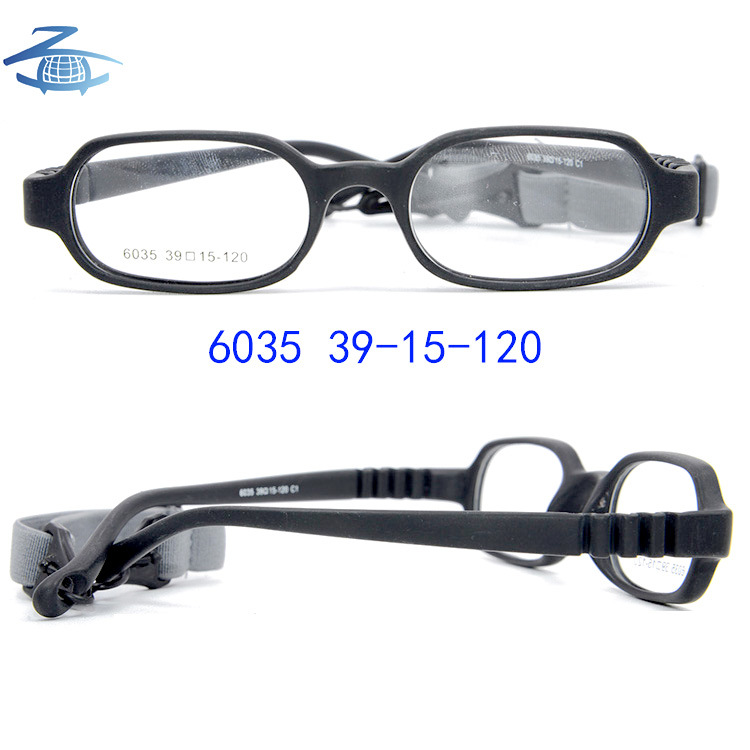 China Wholesale Eyewear Cute 14 Colors Tr90 Flexible Baby Glasses ...