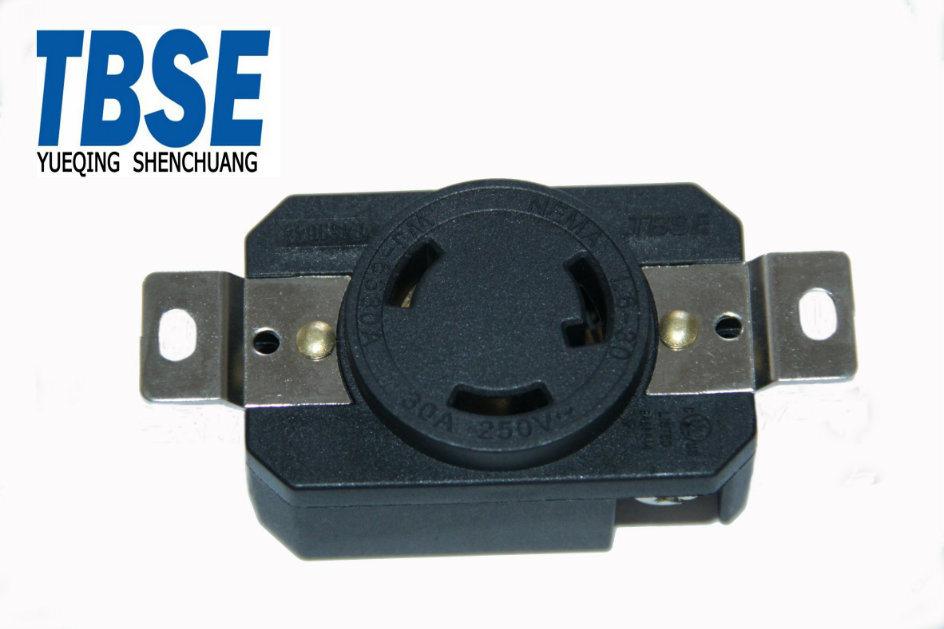 China UL American NEMA L6-30r Us Twisting Locking Socket
