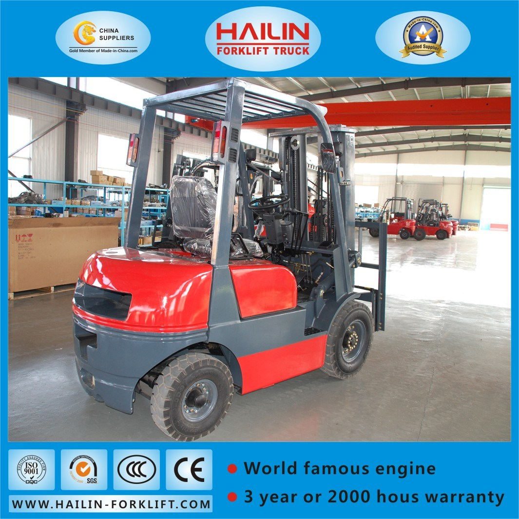 Diesel Forklift (ISUZU engine, 2.5Ton) pictures & photos