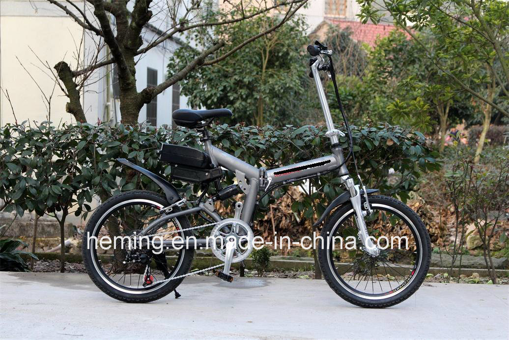 "20"" Folding Electric Bike/Bicycle/Scooter pictures & photos"