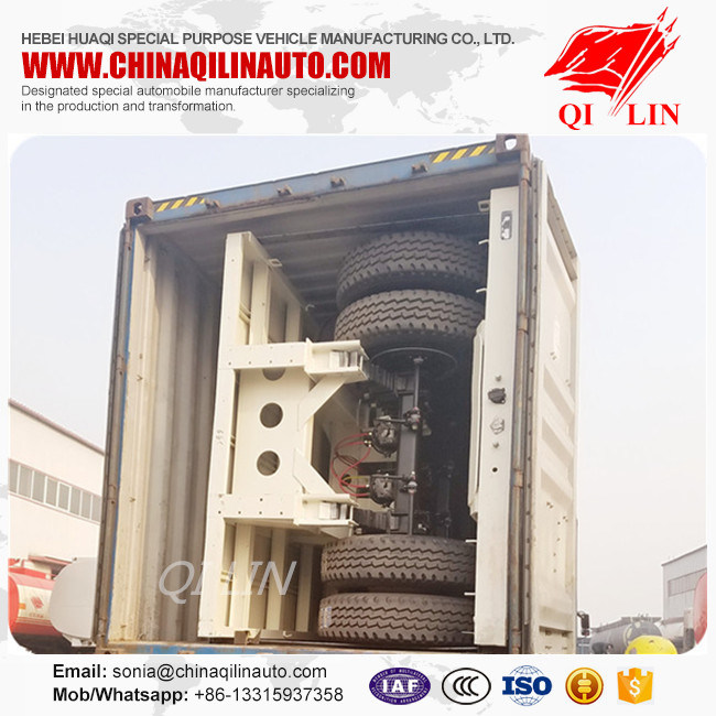 China Heavy Duty Flatbed Semi Trailers with German Suspension Photos