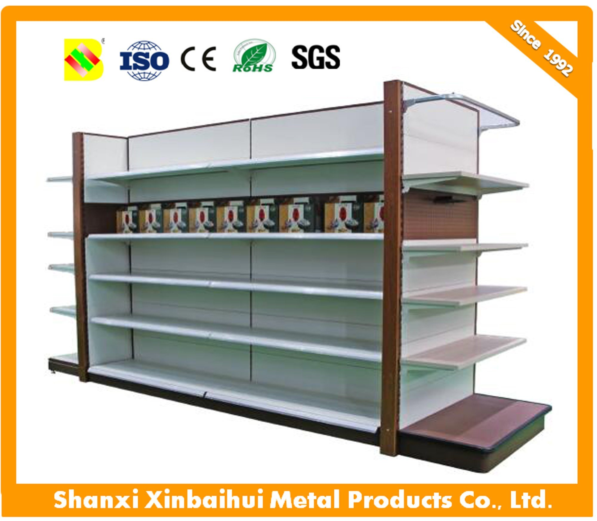 China Affordable Price Modern Floating Shelf Display Stand