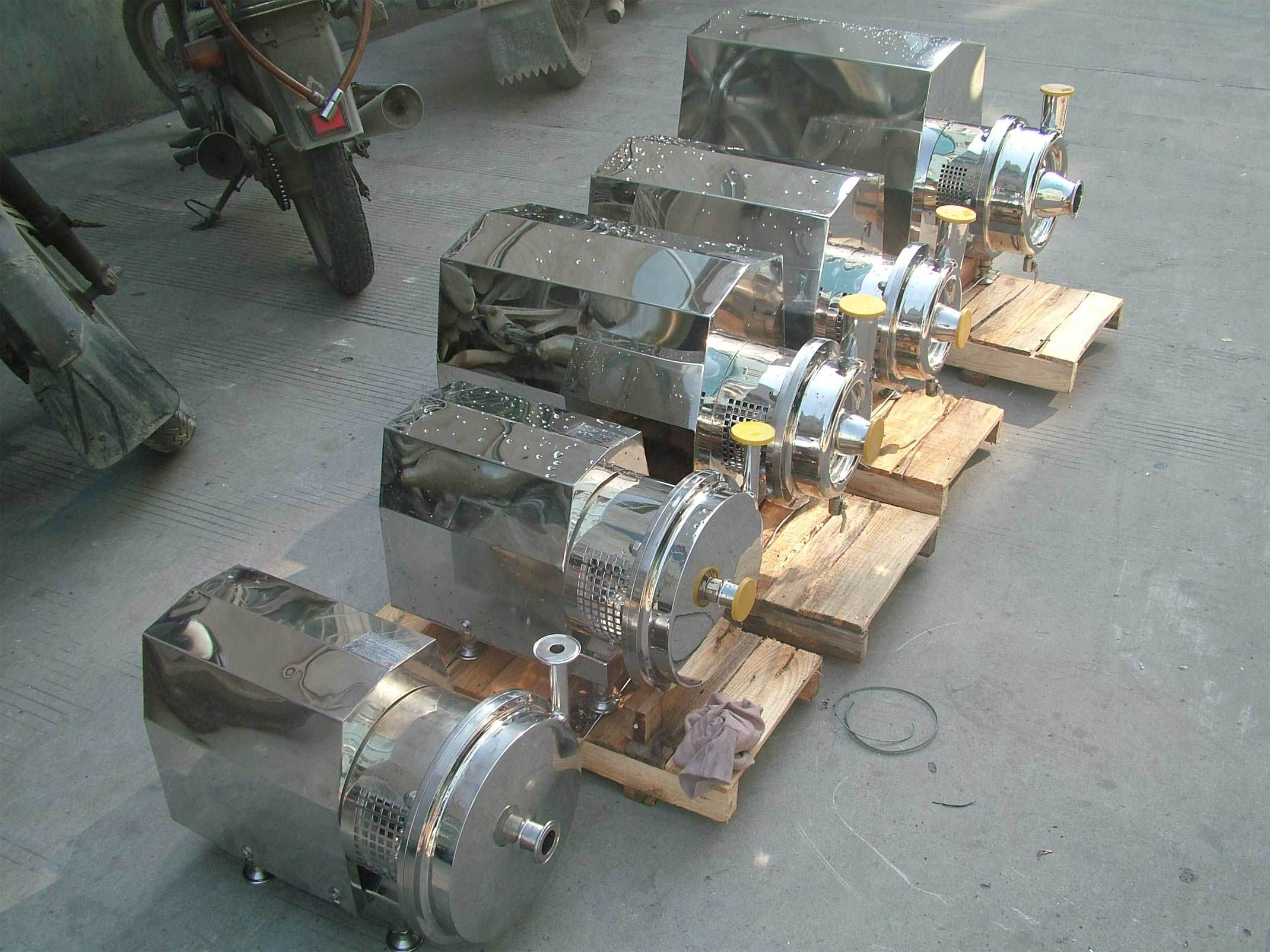 Stainless Steel Centrifugal Sanitary Pump